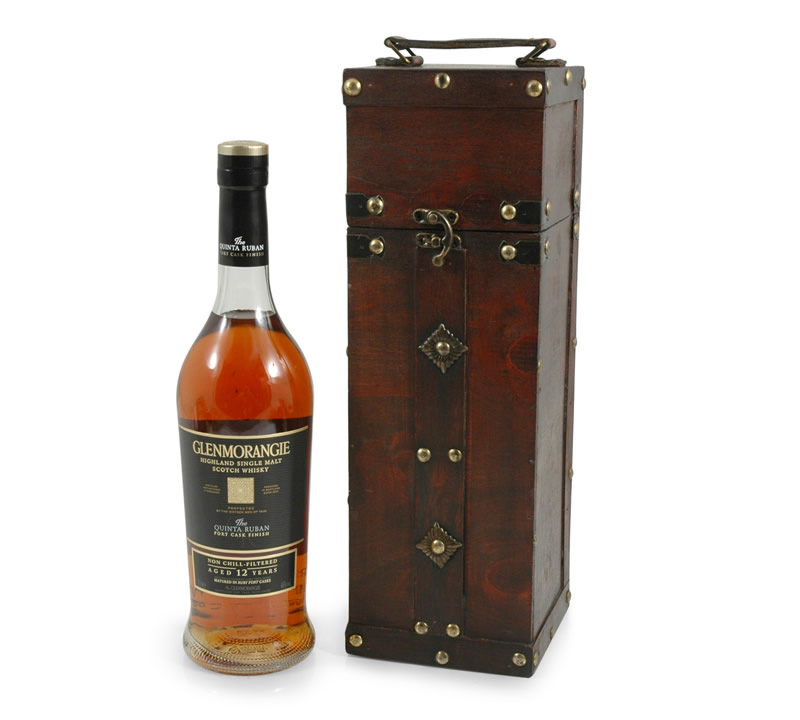 Glenmorangie The Quinta 12 in Wooden Gift Box