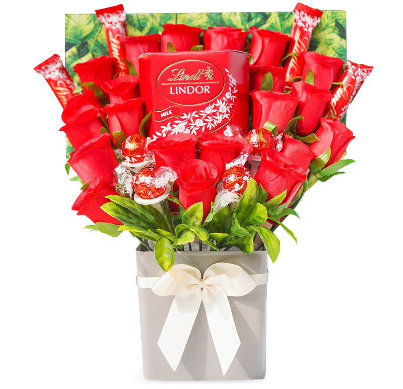 Lindt Lindor Chocolate Bouquet