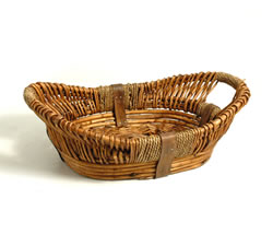 Empty Hampers & Baskets: from Hampergifts.co.uk - 16 inch - Medium Oval Basket
