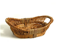 16 inch - Medium Oval Basket