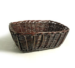 Empty Hampers & Baskets: from Hampergifts.co.uk - 18 inch - Dark Wicker Basket