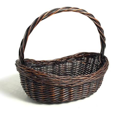 Wicker Hamper Baskets With Handles : High handle wicker basket buy for ?