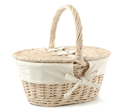 Childrens Picnic Basket - Empty