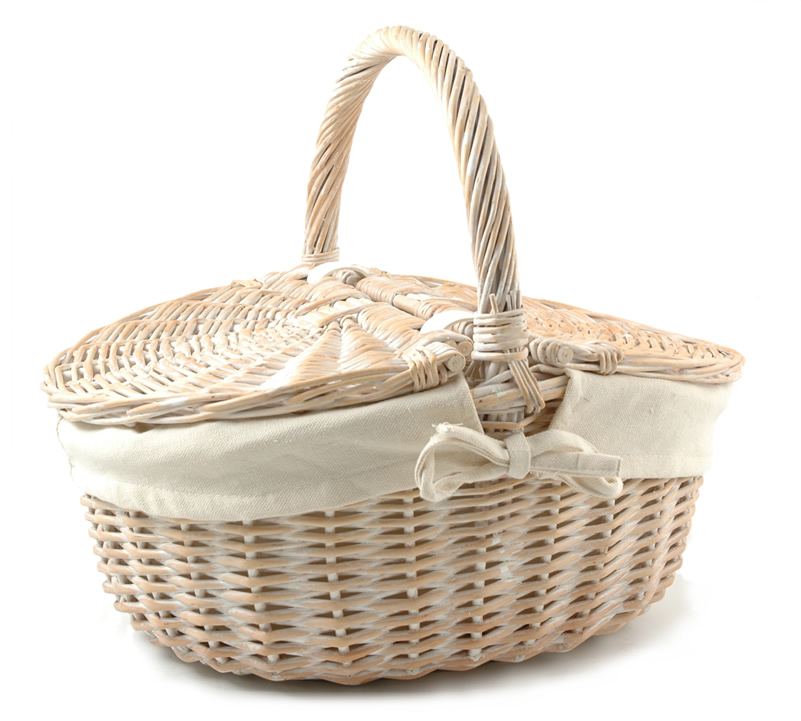LargePicnic Basket - Empty
