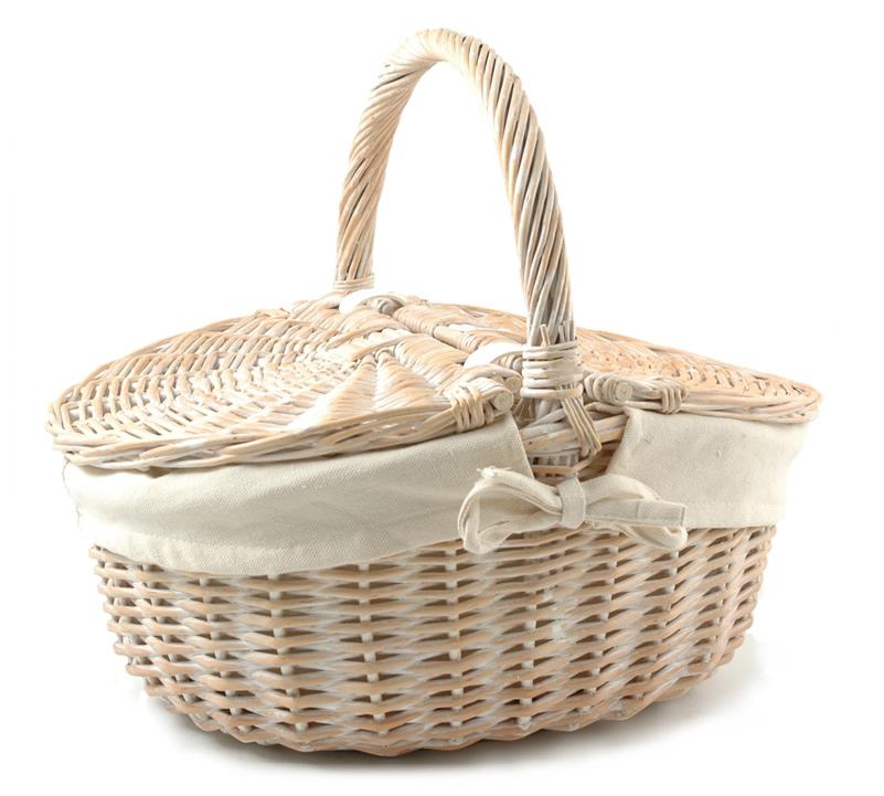 Large Picnic Basket - Empty | Buy Online for £29.99