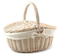 Large Picnic Basket - Empty