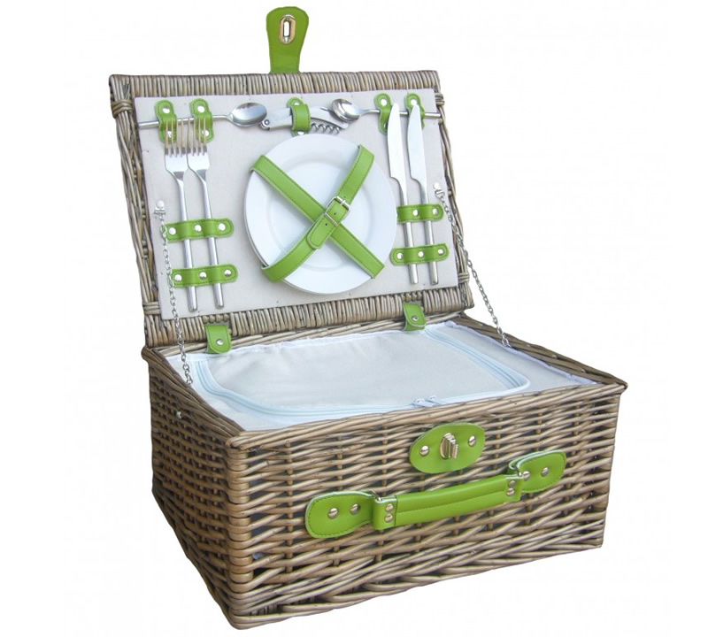 RedChiller 2 Person Picnic Hamper - Empty