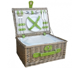 Chiller 2 Person Picnic Hamper - Empty