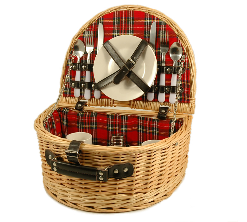 Picnic Hamper for Two - Empty