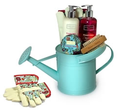 Bath & Beauty Gifts - Hampers & Gift Baskets from Hampergifts.co.uk - French Linen Watering Can