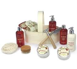 Bath & Beauty Gifts - Hampers & Gift Baskets from Hampergifts.co.uk - Woodlands Metal Trug