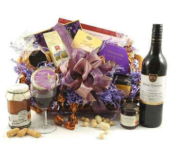 Valentines Hampers | Valentines Gift Basket - The Amethyst