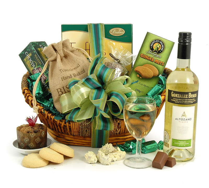 Emerald White Wine Hamper